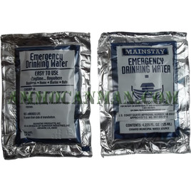 Emergency Water Supply Single Pack