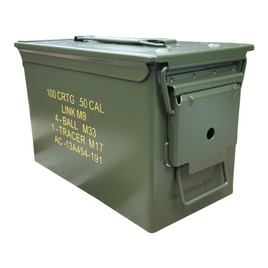 New 50 Cal Ammo Can Stenciled