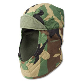 Cold Weather Helmet Liner Woodland Camo
