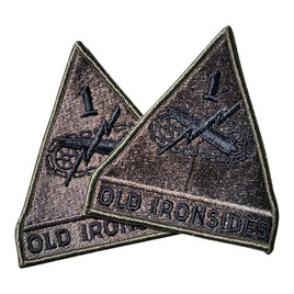 "1st Armored Division ""Old Ironsides"" Unit Patch"