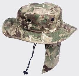 Helikon Camogram Boonie Hat with Detachable Neck Shade
