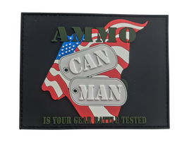 Ammo Can Man Velcro Patch
