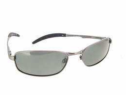 Metal Frame Sunglasses Gray Polarized Lenses