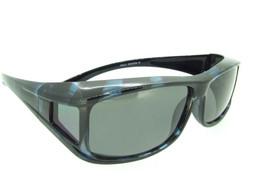 Over Glasses Granite Bahama Blue Frame - Gray Polarized Lenses