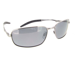 Sunglass Gun Metal Frame - Gray Polarized Lenses