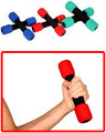 Soft Foam Hand Weights Perfect for Beginners, Seniors and Boomers