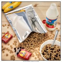 "(50) 8""x12"" ShieldPro Econ 1-Quart Mylar Bag - 3.5 Mils (The most popular bag in America)"