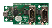 FTDI USB-COM232-PLUS2 USB to Dual Channel RS232 Converter Module