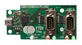 FTDI USB-COM232-PLUS2 USB to Dual Channel RS232 Converter Module