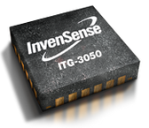 InvenSense ITG-3050 Integrated 3-Axis Digital Output Gyroscope Sensor IC