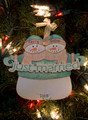 Just Married Personalized Ornament