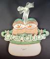 Grandkids Snowmen Personalized 2