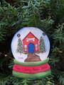 Veterinary Snowglobe Personaized Christmas Ornament
