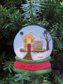 First Home Snowglobe Personaized Christmas Ornament