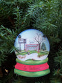 Soccer Snowglobe Personaized Christmas Ornament