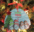 Penguin Ornament Family of 4