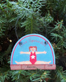 Gymnastics Personalized Christmas Ornament