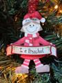 Preschool Elf Red Girl