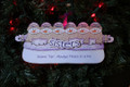 Sisters Six, Always there in a Fix Snowmen Personalized Ornament