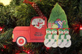 Truck Taking Home the Tree Single Parent or Grandparent with 4 children
