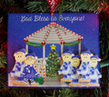 Gazebo Family of 6 Christmas Ornament