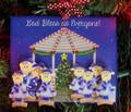 Gazebo Family of 8 Christmas Ornament
