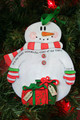 It's the Most Wonderful Time of the Year Personalized Snowman Ornament 2