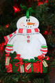 It's the Most Wonderful Time of the Year Personalized Snowman Ornament 4