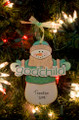 God Child Snowman Personalized Ornament