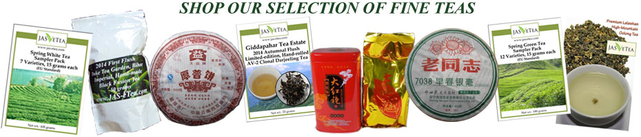Shop Our Selection of Teas