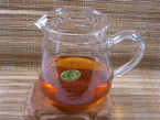 Chahai (Tea Pitcher) - Glass, Triangle Shape - 400cc cap.