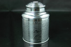 Tea Storage Canister (Tin) - 150g cap.