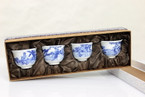 Tea Cup - Chinese Ancient Four Beauties Jingdezhen - 120ml cap. per cup, 4-cup gift set