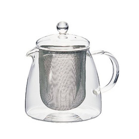 Large infuser lets leaves fully expand