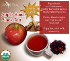 Apple Spice Black Tea – 100% Organic – 3.5oz