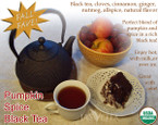 Pumpkin Spice Black Tea – 100% Organic – 3.5oz