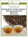 "Jin Mao Hou ""Golden Monkey"" 2016 Spring Imperial Black Tea (EU Standard)"