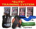 """ELITE TRAINING SYSTEM"" - J-Glove, 4 Millennium DVDs, 2lb Wrist Weights, Large 0-Bands , J-Strap, SAVE $58)"