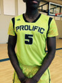 Official NEON YELLOW GAME JERSEY