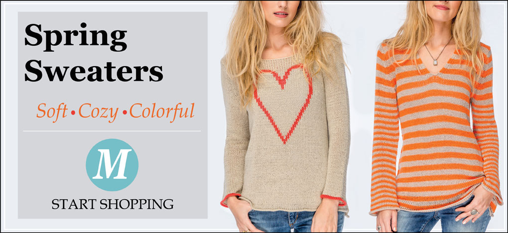 Shop Spring Sweaters