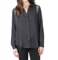 Gentle Fawn Canterbury Top in Gunmetal