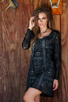 Union of Angels Taniel Dress - Black