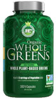 Ergogenics Nutrition Organic Whole Greens 360 Capsules