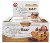 Quest Nutrition Chocolate Chip Cookie Dough Protien Bar Box of 12 x 60g