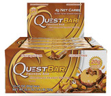 Quest Nutrition Chocolate Peanut Butter Protein Bar Box of 12 x 60g