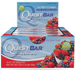 Quest Nutrition Mixed Berry Bliss Protien Bar Box of 12 x 60g