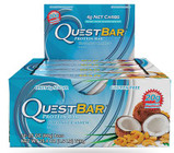 Quest Nutrition Coconut Cashew Protien Bar Box of 12 x 60g