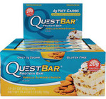 Quest Nutrition Vanilla Almond Crunch Protien Bar Box of 12 x 60g