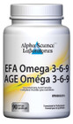 Alpha Science EFA Omega 3-6-9 - 90 Capsules