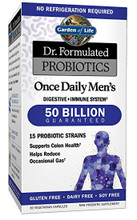 Garden of Life Probiotics Once Daily Men's 50 Billions 30 Veg Capsules